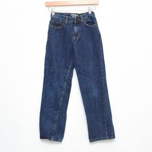 Cat & Jack Jeans Girl 12 Slim Relaxed Straight Leg